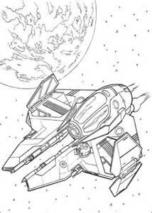 Eta-2 Actis-class light interceptor Coloring page | Free