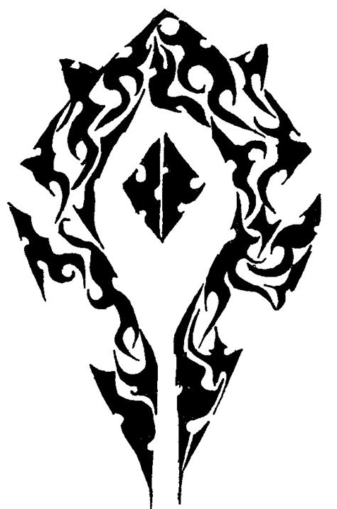 horde tribal by ryanschipper89 on deviantart