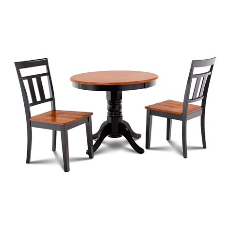 Black And Cherry Dining Table Shop M D Furniture Brookline Black Cherry Dining Set With Dining Table At Lowes