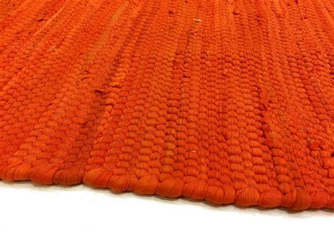 orange rag rug rag rugs silje orange rag rugs
