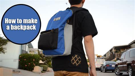 diy jansport inspired backpack tutorial from scratch