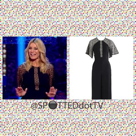 Jumpsuit Biru tess daly jumpsuit strictly a come episode 1 spotted tv