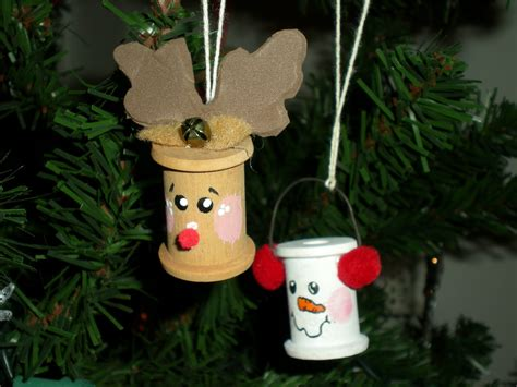 Ornaments Handmade Crafts - 25 days of crafts day 5