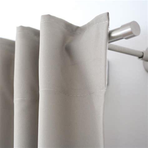 blickdichte gardinen mit ösen schal mit 214 sen und schlaufenband ben blickdicht