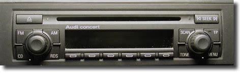 Autoradio Concert Audi by Interfaccia Bluetooth