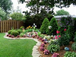 Beautiful Yards by Beautiful Backyard Flower Gardens Related Keywords