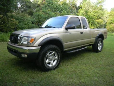 Used Toyota Tacoma 4wd Purchase Used 2004 Toyota Tacoma 4wd Sr5 In Woodbridge