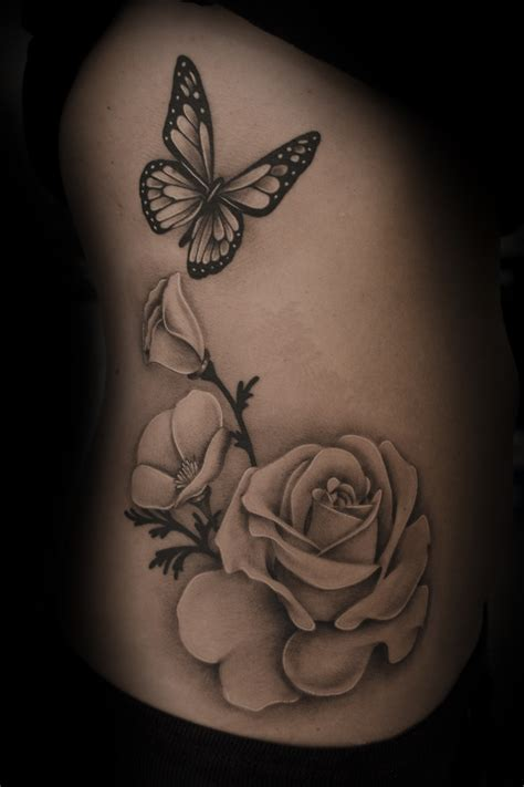 black and grey butterfly tattoo designs black and grey butterfly best design