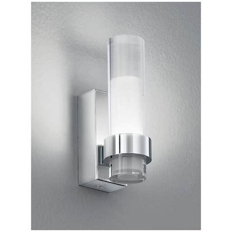 Franklite Bathroom Lights Franklite Led Glass Single Bathroom Wall Light Wb050 By Lovelights Co Uk