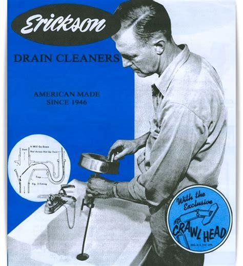 erickson drain cleaner plumbing supplies drain augers