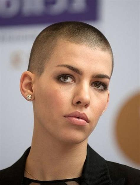 women getting crew cut haircuts female very short buzz cut for women styles weekly