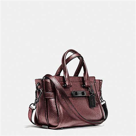New Arrival Coach Swagger Mini coach designer handbags coach swagger 20 in metallic