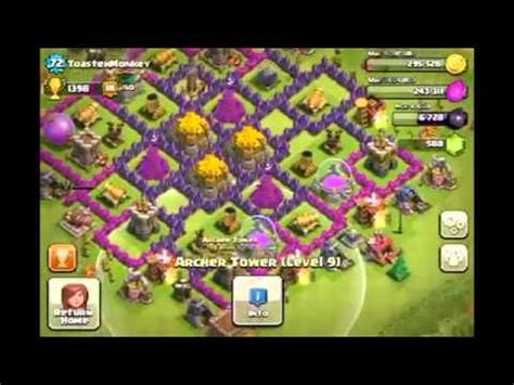 cara mod game castle clash cara bermain game clash of clans youtube