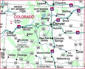highway map of colorado aaccessmaps