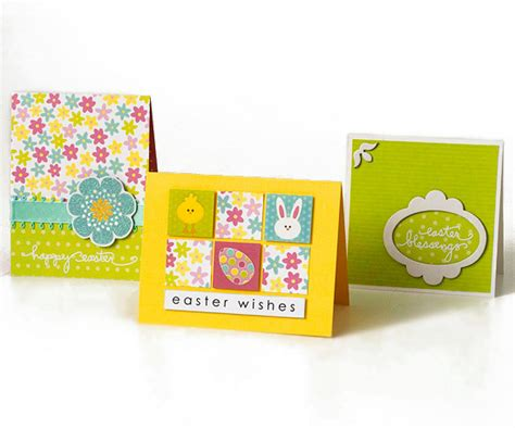 make a easter card easy to make easter cards from better homes and gardens