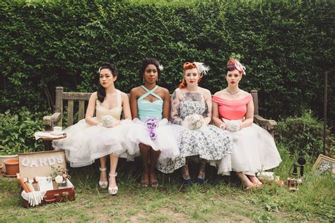Vintage Wedding Hair Nottingham by Looking For 1950 S Wedding Ideas Like A Rockabilly Wedding