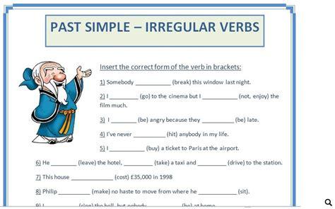 learn past tense verbs 1 pattern practice simple pas past simple irregular verbs