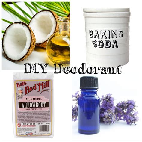 diy deodorant how to make your own deodorant