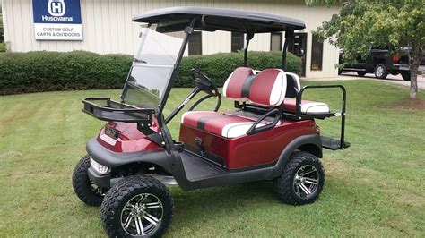 garnet club car precedent custom golf carts columbia