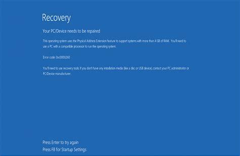 install windows 10 error image gallery windows error 10