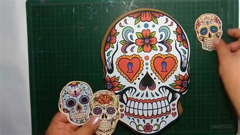 imagenes de calaveras decoradas con diamantina october daily 1a parte youtube
