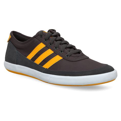 adidas classic shoes mens adidas court spin grey smart casual canvas