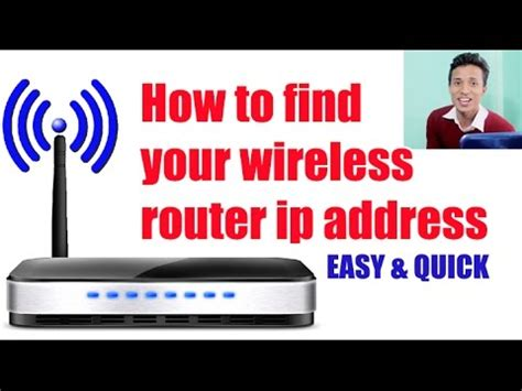 Wifi Ip Address Finder How To Find Your Wireless Router Ip Address Easy And