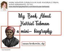 mini biography of harriet tubman 1000 images about informational text for special