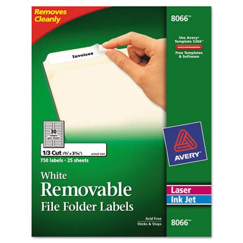 Bettymills Avery 174 Removable File Folder Labels Avery Ave8066 Avery Self Adhesive File Folder Labels 8 Per Sheet Template