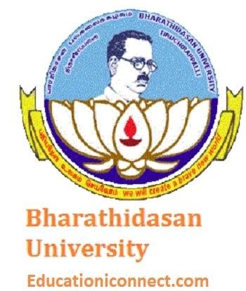 Bharathidasan Mba Fees by Bharathidasan Fee Structure 2017 Bu