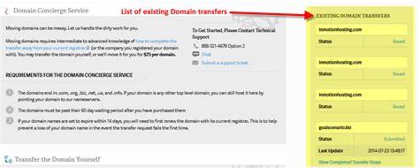 transfer domains  amp inmotion hosting