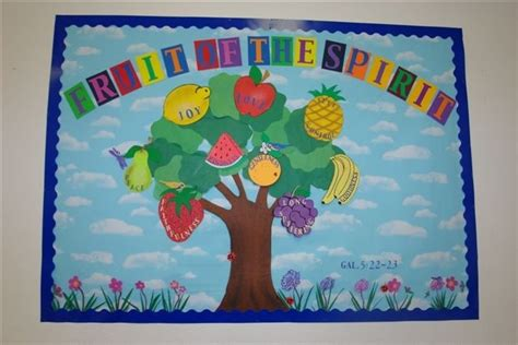fruit bulletin board idea 171 funnycrafts the 77 best images about vbs 2017 ideas on