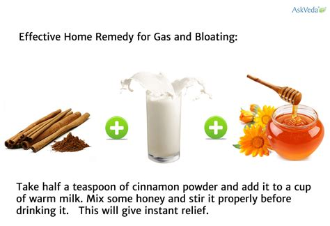 effective home remedies for gas and bloating