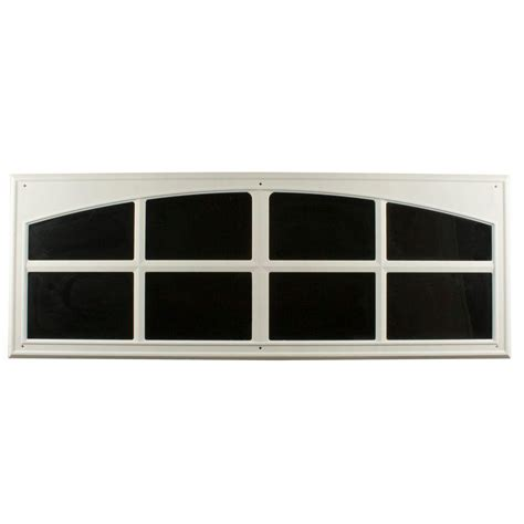 home depot garage door decorative hardware crown metalworks white decorative faux window 2 per pack