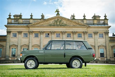1970 range rover for sale 1970 range rover chassis 001 silverstone auctions