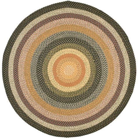4 ft rug safavieh braided multi 4 ft x 4 ft area rug brd308a 4r the home depot