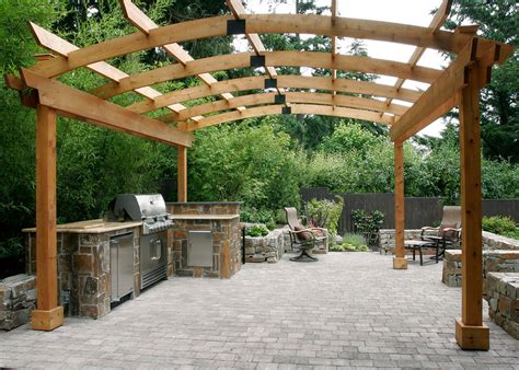 Awnings Portland Oregon Outdoor Kitchen Design Tips All Oregon Landscaping