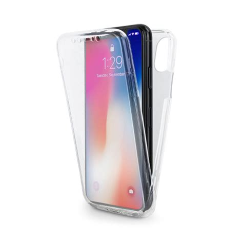 premium iphone xs max transparent 360 front and back cover clear by labrador labrador
