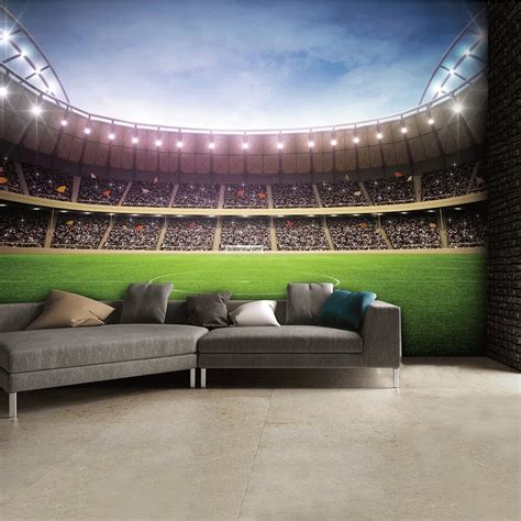 Wall Mural Bedroom football stadium wall mural collection 8 wallpapers