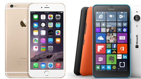 iPhone 6 Plus vs. Lumia 640 XL: Comparativa de Smartphones