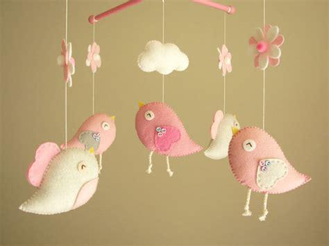 Handmade Baby Mobiles Australia - baby crib mobile bird mobile felt mobile nursery mobile