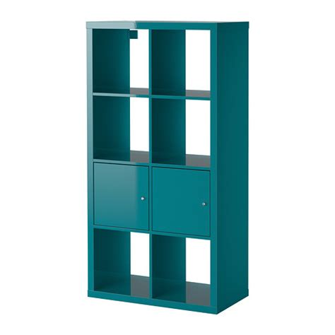 kallax shelving unit with doors ikea nursery