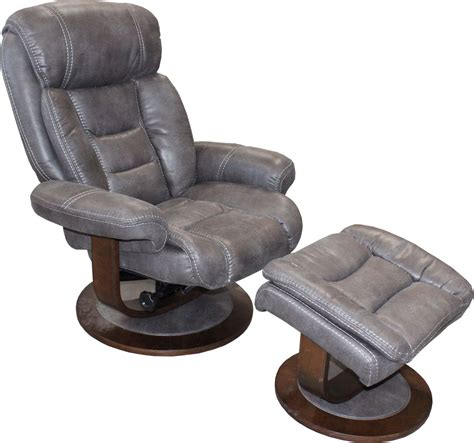 swivel recliners with ottoman triton platinum swivel recliner ottoman from parker