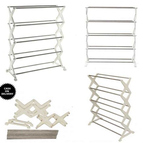 5 tier 12 pair stackable shoe rack in pakistan hitshop
