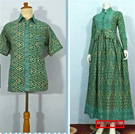design baju gamis couple aneka model baju batik couple gamis terlengkap 2018