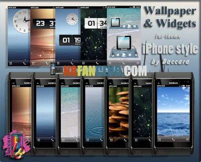 download theme effects for nokia n8 iphone style belle theme by baccara with hd wallpapers and