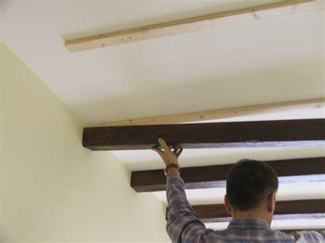finte travi per soffitto finte travi in legno costo con fai da te hobby legno finte