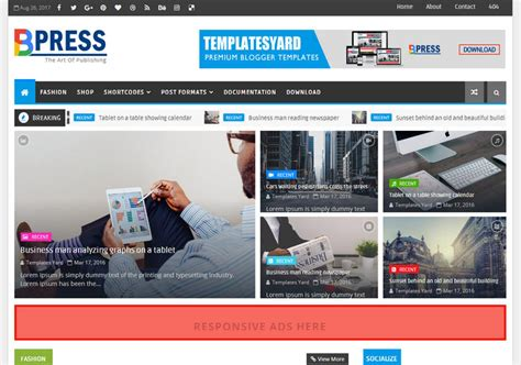 templates blogspot magazine bpress magazine blogger template blogspot templates 2018