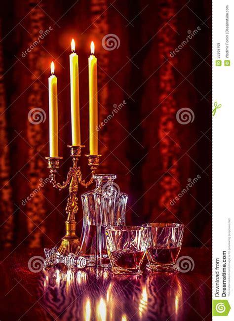 produttori di candele vino e candele fotografia stock immagine 55968768