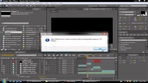 tutorial audio fx widget after effects tutorial error invoking plugin fix youtube